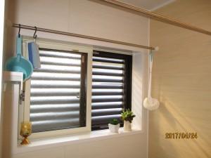 改修後 窓をカバー工法で交換