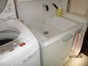改修後 洗面室