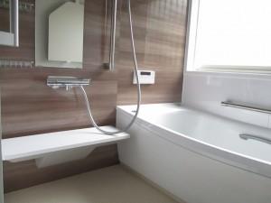 s-快適な浴室になりました